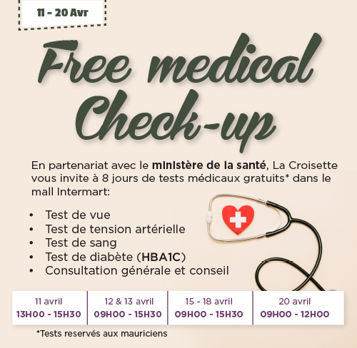 Free Medical Check-up
