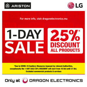 1-DAY SALE AT DRAGON ELECTRONICS