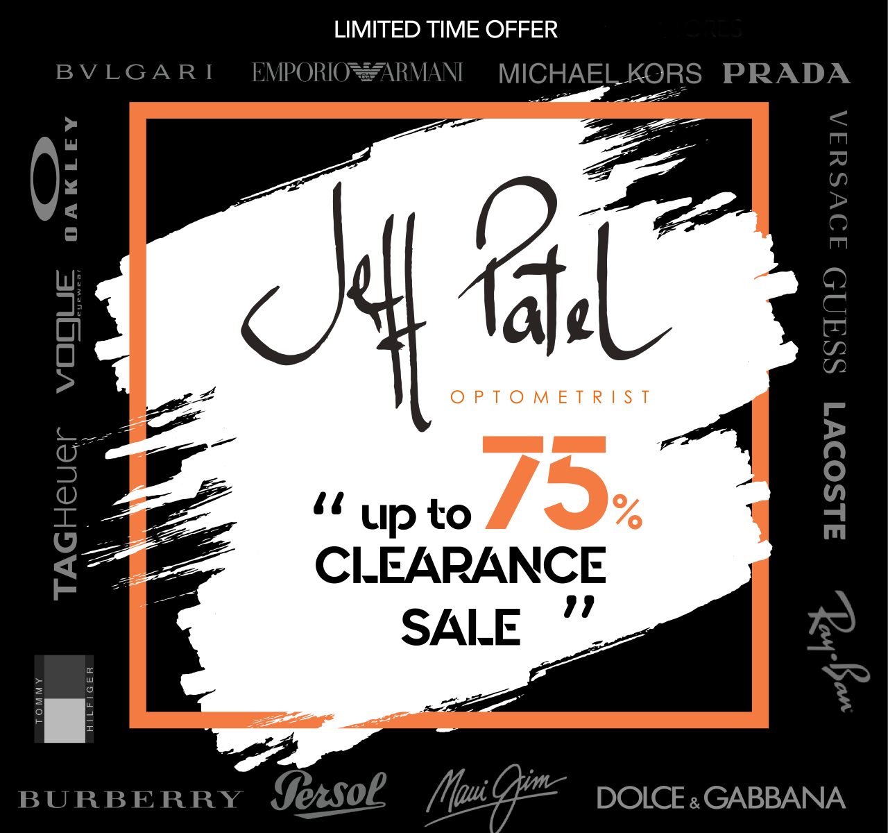 Jeff Patel's Clearance Sale 2020