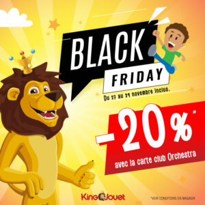 Black Friday at King Jouet