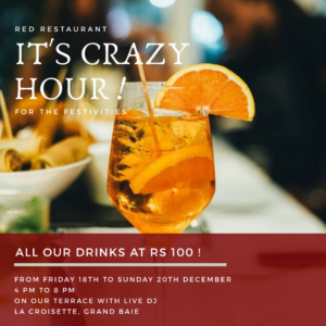 Happy Hour at Red