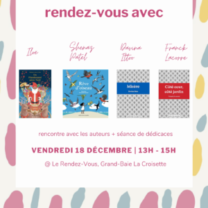 Book Signing at Le REndez-Vous