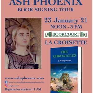 Book tour of Ash Phoenix