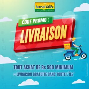 Free Delivery by Bureau Vallee