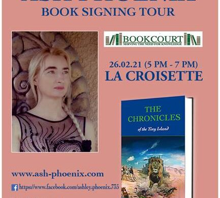 Book Signing of Ash Phoenix