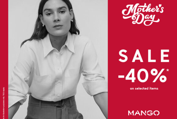 40% off at Mango for Mother's Day