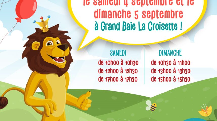 Meet the Lion this Weekend